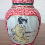 Vaso, pittura su ceramica